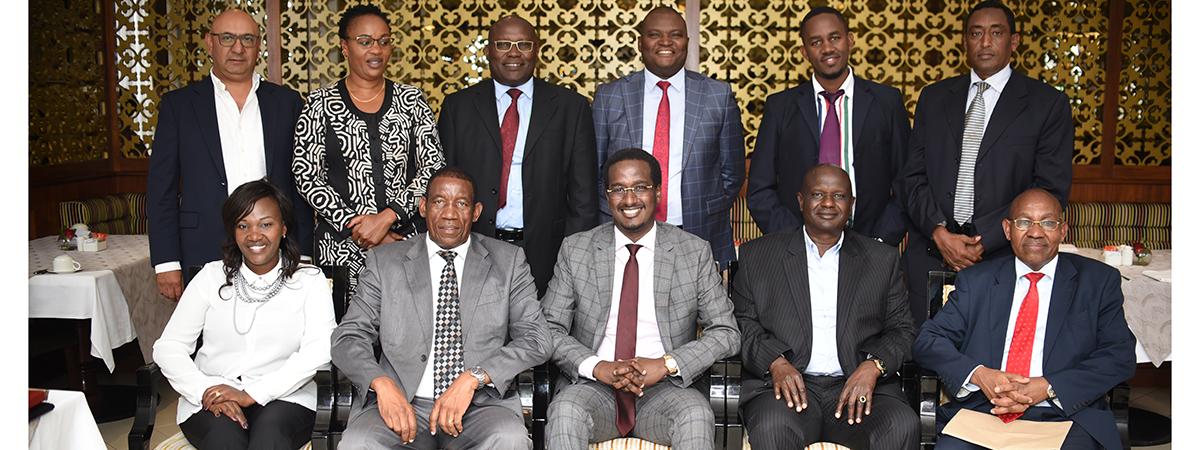PSIA & PSRA CEO Meeting Held in Nairobi.